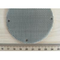 Buy cheap 150 Micron 6 Layer Sintered Filter Disc For Air Filter Porous Monel Hastelloy from wholesalers