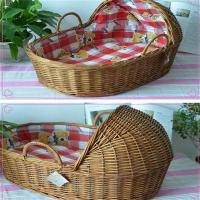 Buy cheap wicker rattan basket baby basket from wholesalers