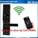 Buy cheap KO-ZL901 High Tech Pad Wireless Control Biometric Fingerprint Door Lock from wholesalers