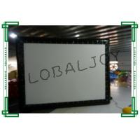 Buy cheap PVC Tarpaulin Inflatable Cinema Screen Small 16m x 9m Customized from wholesalers