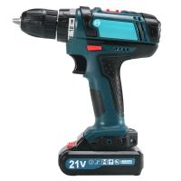 Buy cheap Woodworking Portable Cordless Drill , 21V / 16.8V Small Cordless Electric Drill from wholesalers