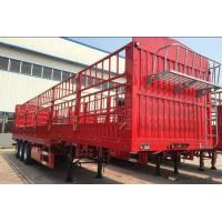 Buy cheap Lightweight Column Semi Trailer Trucks Deadweight 6 Tons 3 Axle 13 Meters from wholesalers