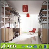 Buy cheap china online shopping modular home furniture metal frame aluminumn pole closets from wholesalers