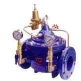Buy cheap High Sensitivity Water Pressure Reducing Valves / Regulator , Pilot Operated product