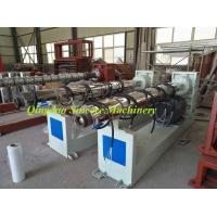 Buy cheap PP PPR hot or cold water supply sanitary engineering pipe making machine from wholesalers