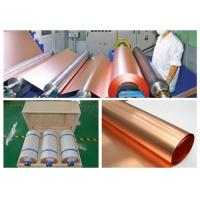 Buy cheap 35um Copper Sheet Roll For High Frequency Microwave Circuit IPC 4562 Standard from wholesalers
