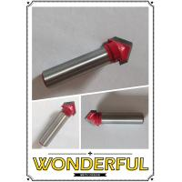 Buy cheap V Groove Sign Lettering Router Bit - 1/2 x 1/2 - 8mm Shank from wholesalers