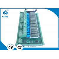 Buy cheap 20 Pin IDC Connectors I O Relay Module 12 VDC Input 16 Road 1NO Relay Board from wholesalers