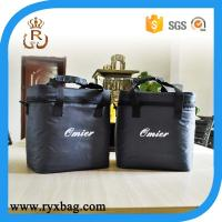 6 bottles and cans pack cooler bag