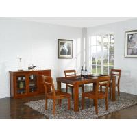 Buy cheap Nanmu solid wood Dining room furniture 1.35m flexible Round table and Chairs from wholesalers