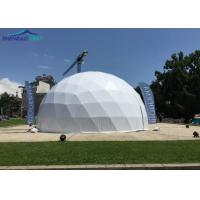 Buy cheap 25m ABS Hard Walls Geodesic Dome Tent For Cinema Soundproof from wholesalers