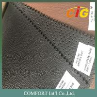 Buy cheap Waterproof Plain and Punch PU Synthetic Leather 450GSM - 500GSM 140CM product