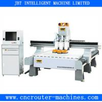 Buy cheap Furniture Machinery Multi Spindle CNC Router , Steel Structure Lathe Bed from wholesalers