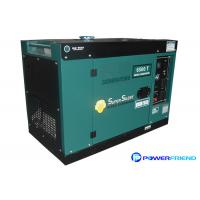 Buy cheap AC Single Phase 220V Small Portable Generators With Wheels Diesel Genset 5kva from Wholesalers