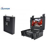 Buy cheap Backpack COFDM Transmitter , Microwave A / V portable Wireless Hdmi Video Transmitter Encrypted product