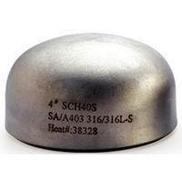 Buy cheap Corrosion resistant seamless Butt Weld Fittings / Copper - Nickel Cap from wholesalers
