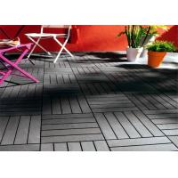 Buy cheap DIY Graden Wpc Decking Tiles , High Plasticity Outdoor Floor Decking Tiles For Decoration from wholesalers