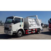 Buy cheap 8 10 Ton Arm Swing Garbage Light Duty Commercial Trucks Mini City Rubbish from wholesalers