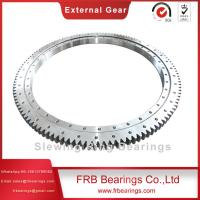 Buy cheap 021.40.1250.03 Double row ball slew bearing machine bearing ring gear profile slewing bearing double axial slewing rings from wholesalers