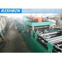 Buy cheap Hot Rolled Coils Adjustable C Purlin Roll Forming Machinery Gcr15 Quenched Roller from wholesalers