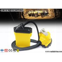 Buy cheap 10.4AH Coal Miner Hard Hat LightCorded Style 25000 Lux Strong Brightness from wholesalers