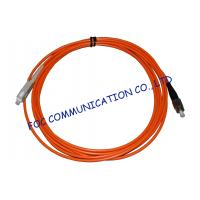 Buy cheap Multi Mode LSZH Jacket Fiber Optic Ethernet Cable  SC-FC Connector from wholesalers