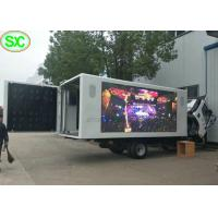 Buy cheap IP65 Waterproof Mobile Truck LED Display 4mm with Phone Remote Control from wholesalers