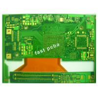 Buy cheap Green Solder Mask Enig Surface 6 Layer Rigid Flex PCB for Industrial Control PCBs from wholesalers