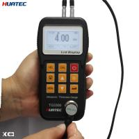 Buy cheap Plastic 0.75mm - 300.0mm measure range Ultrasonic thickness gauge , UT thickness gage from wholesalers
