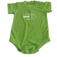 Buy cheap China Wholesale Short Sleeve Fashion New Design Bamboo Fiber Baby Bodysuit with 100% Bambo from wholesalers