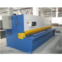 Buy cheap Plate Sheet Metal CNC Swing Hydraulic Shearing Machines Bosch-Rexroth / Siemens Motor from wholesalers