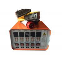 Buy cheap China 5Zone high accuracy hot runner controllers |MD18 hot runner controller manufactures, Orange Color export to India from wholesalers