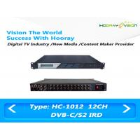 ASI Interface Digital TV Satellite Receiver / 12-16 Turner FTA Digital Satellite Receiver