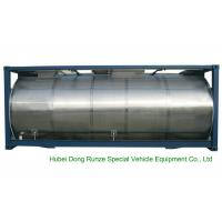 Buy cheap 316 Stainless Steel ISO Tank Container 20 FT For Wine / Fruit Juices / Vegetable Oils from wholesalers