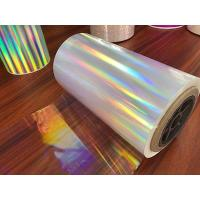 Buy cheap Holographic lamination film with acrylic for printing and packing from wholesalers