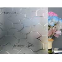 Buy cheap 3mm to 8mm Karatachi Patterned Glass, Rolled Glass, Figured Glass with Certificate ISO and BV from wholesalers