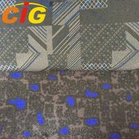 100% Polyester 150cm width 200gsm weight Jacquard auto fabric with 4mm foam for