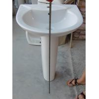 Buy cheap 738 Ceramic Pedestal basin from wholesalers