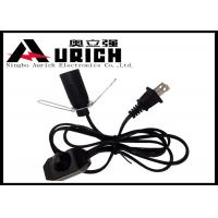 Electrical Ul Approved Salt Lamp Power Cord With Dimmer Switch E12 Lamp Holder