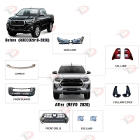Buy cheap Car 2020 Revo 4x4 Pickup Truck Hilux Rocco Body Kit from wholesalers