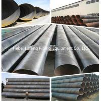 Buy cheap ASTM A554 ERW 316l spiral welded steel pipe for sale ASTM A53 BS1387 BLACK ERW WELDED STEEL PIPE from wholesalers