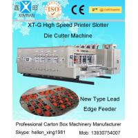 Buy cheap Industrial Automatic Carton Machine Printing Slotting Die - Cutting Machine from wholesalers