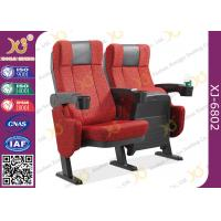 Buy cheap ISO Certification Padding Armrest Theatre Seating Chairs Flame Retardant Fabric from wholesalers
