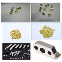 Buy cheap HPHT big size yellow Synthetic industrial CVD MCD diamond plate from wholesalers
