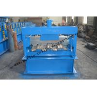 Buy cheap Galvanized Steel Floor Deck Roll Forming Machine With Coiler Car ,  Floor Tile Making Machine from wholesalers