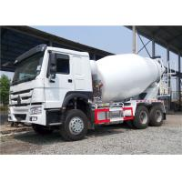 Buy cheap HOWO 6x4 Concrete Agitator Truck , 8 Cubic Meters 8M3 Cement Mixer Truck from wholesalers