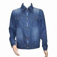 Buy cheap Men's Denim Jacket, Made of 100% Cotton from wholesalers