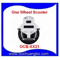 Buy cheap Ouchuangbo Newest outdoor scooter automatic self balancing vehicle One Wheel Scooter OCB-XX21 from wholesalers