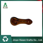 Buy cheap Clear Brown Shisha 3.8 inch Borosilicate Glass Bongs Water Pipe from wholesalers