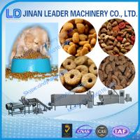 Buy cheap Multi-functional wide output range pet food production line extruder from wholesalers